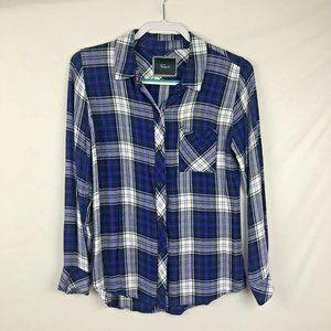 Rails Women's Button front Flannel type Shirt S